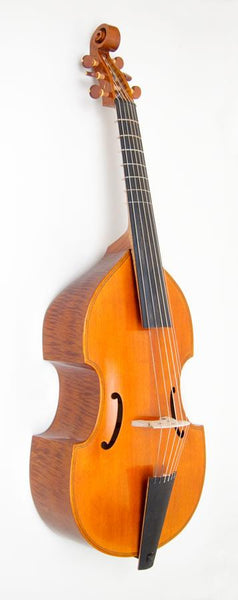 John Rose Model Victoria and Albert Bass Viola da Gamba by Charlie Ogle