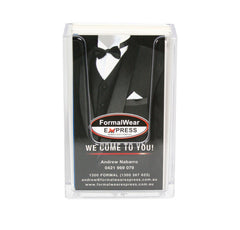 BUSINESS CARD HOLDER PORTRAIT COUNTER TOP