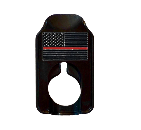 Image of Fallen Hero Firefighters Thin Red Line - Rennie's Keeper Eyeglasses Holder