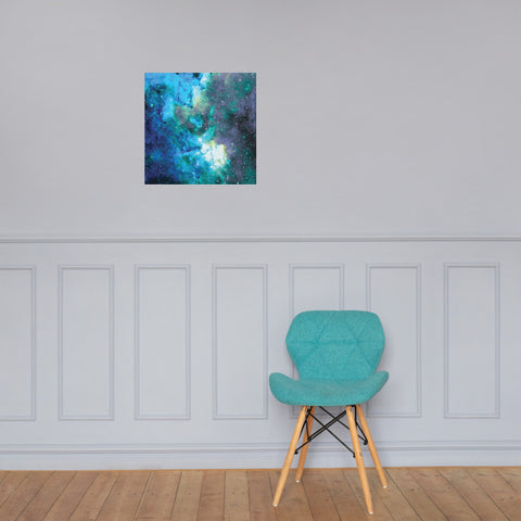 Space Photo Paper Poster