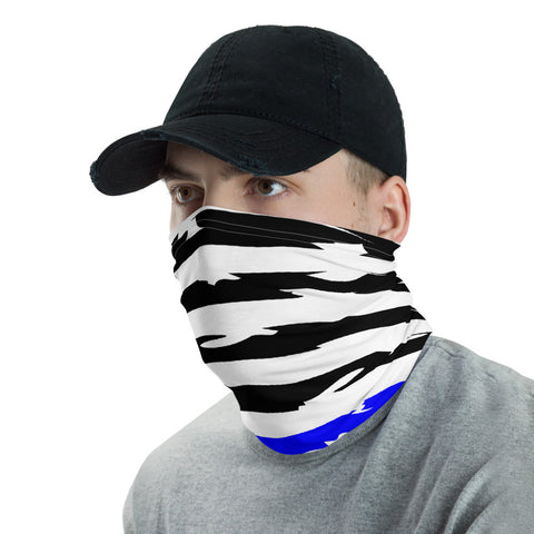 Image of Thin Blue Line Hero Gaiter Face Mask