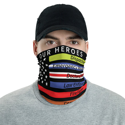 Image of Heroes Design Virus Protection Gaiter Mask (Covid19)