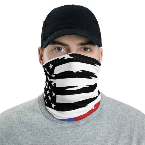 Image of Thin Blue/Red Line Gaiter Face Mask