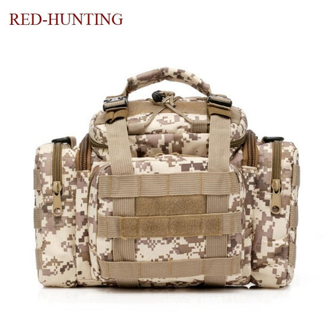 Image of Tactical Assault Gear Sling Pack Range Bag Hiking Fanny Pack Waist Bag Shoulder Backpack EDC Camera Bag MOLLE Modular Bag