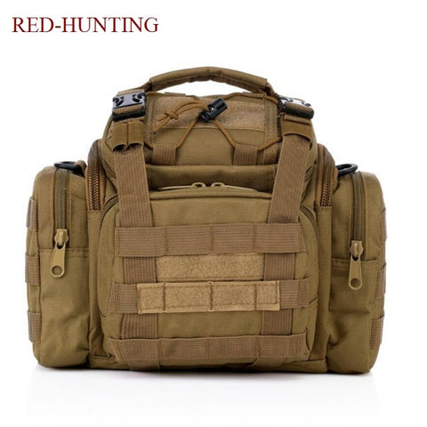Tactical Assault Gear Sling Pack Range Bag Hiking Fanny Pack Waist Bag Shoulder Backpack EDC Camera Bag MOLLE Modular Bag