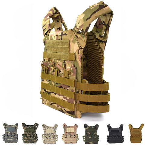 Image of Tactical Equipment JPC Molle Vest Airsoft Paintball Hunting Vest Plate Carrier Vest Military Gear Body Armor