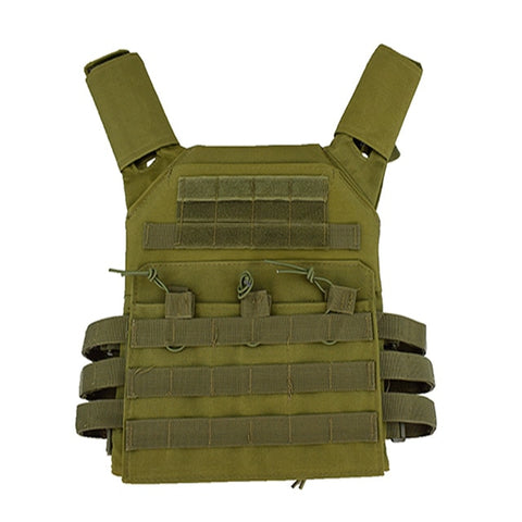 Tactical Equipment JPC Molle Vest Airsoft Paintball Hunting Vest Plate Carrier Vest Military Gear Body Armor