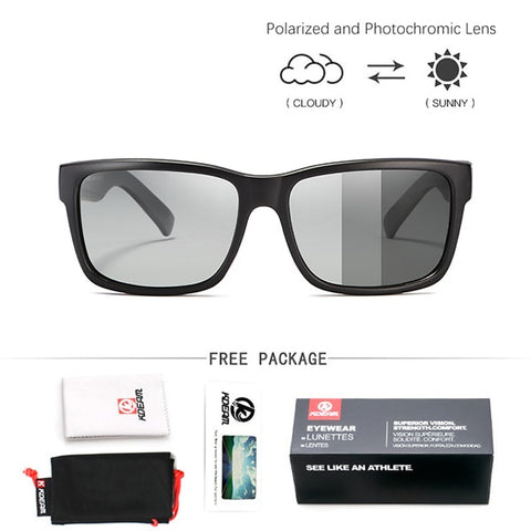 Image of KDEAM Revamp Of Sport Men Sunglasses Polarized KDEAM Shockingly Colors Sun Glasses Outdoor Elmore Style Sunglass With Box XH1
