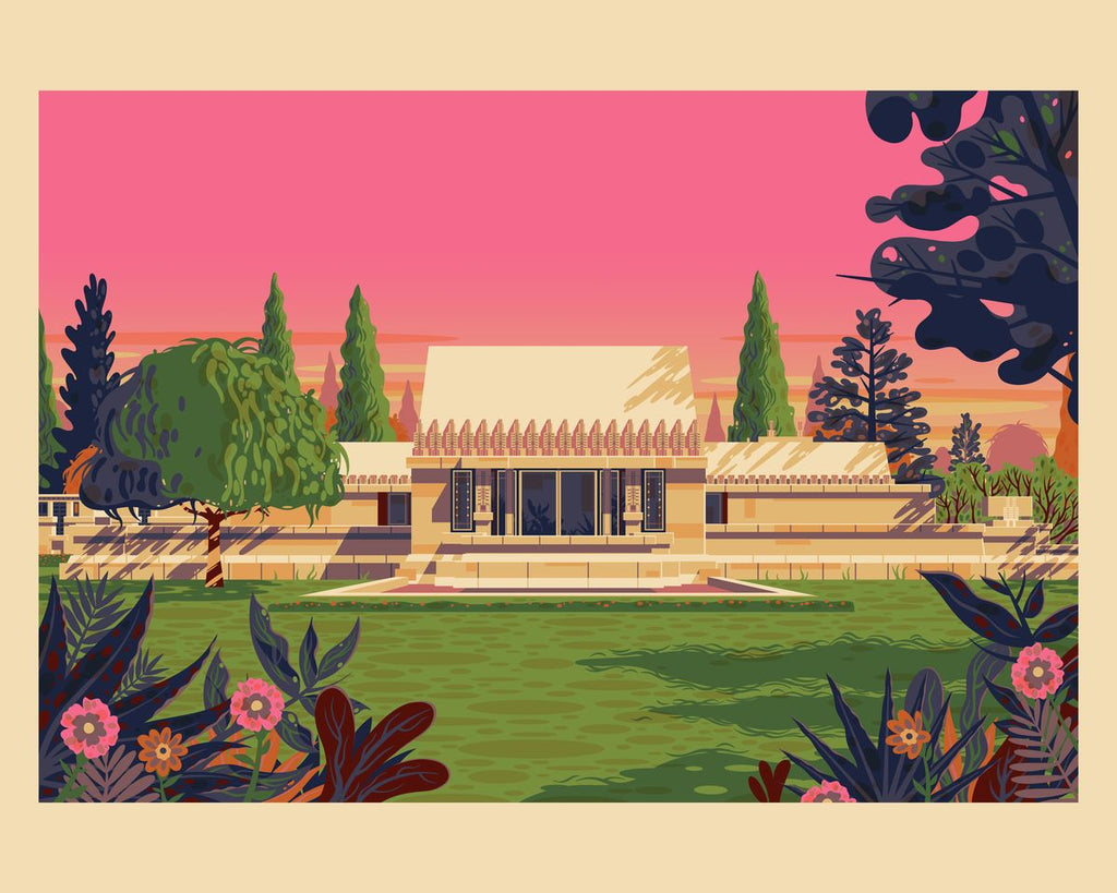 Hollyhock House - George Townley