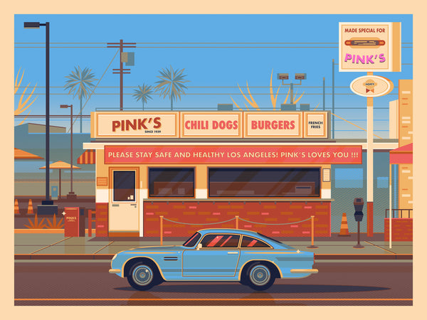 Pink's Hot Dogs George Townley