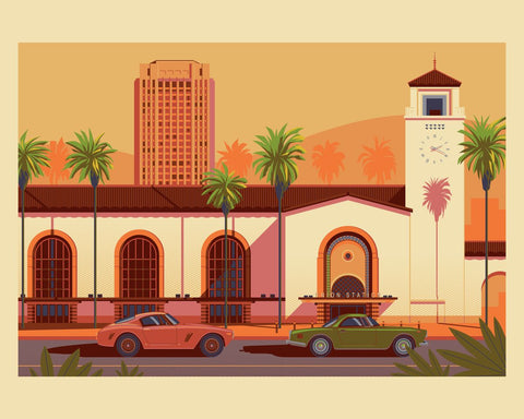 Los Angeles Union Station - George Townley