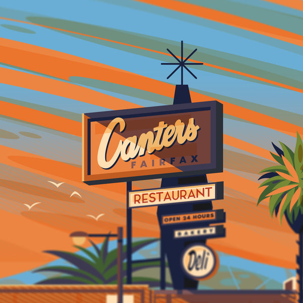 Canter's Deli - George Townley