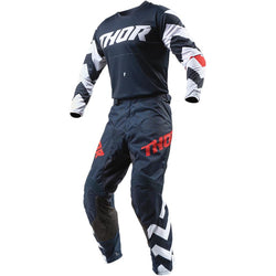 THOR - PULSE STUNNER MIDNIGHT/WHITE JERSEY, PANTS COMBO
