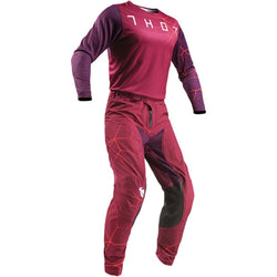 THOR - PRIME PRO INFECTION MAROON/RED JERSEY, PANTS COMBO