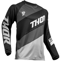 THOR - SECTOR SHEAR BLACK/GRAY JERSEY