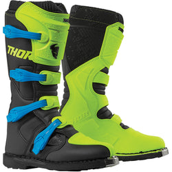 BLITZ XP FLO GREEN/BLACK BOOTS