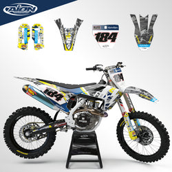 Husqvarna TC FC FS TX FX 125-250-300-350-450 2016-2018 Full Graphic Kit
