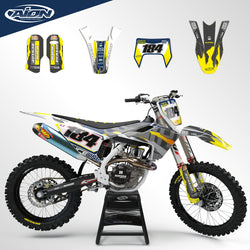 Husqvarna TE TX FE 125-250(i)-300(i)-350-450-501 2017-2019 Full Graphic Kit