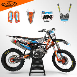 KTM SX SXF XC XCF 125-450 2016-2018 Full Graphic Kit