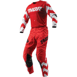 THOR - PULSE STUNNER RED/WHITE JERSEY, PANTS COMBO