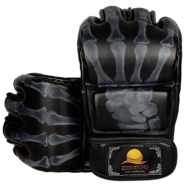 MMA Half-Finger Boxing Fight Gloves Mitts