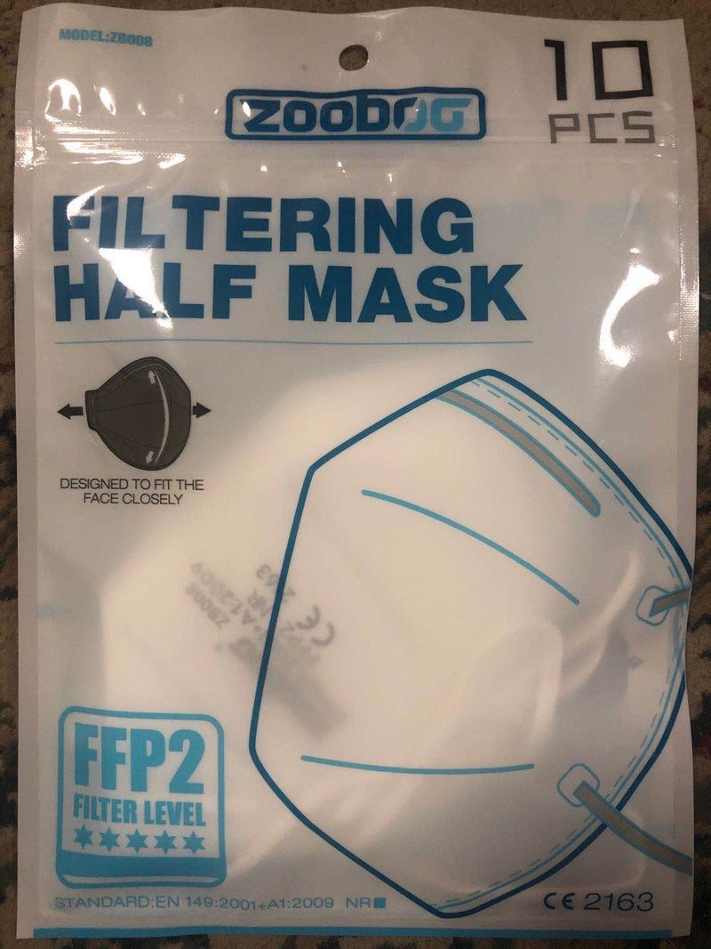 FFP2 NR Protective Mask CE FDA protective fack mask