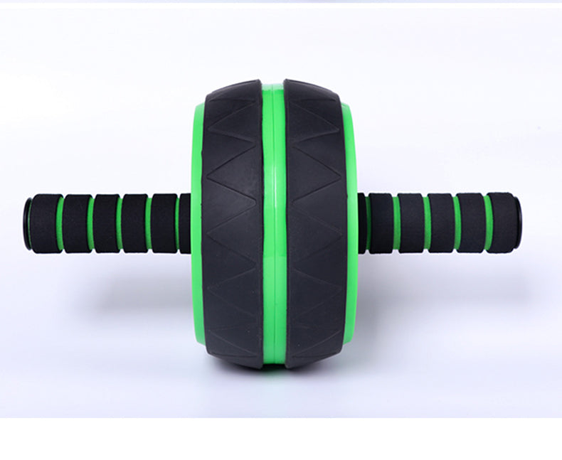 Ab-Roller Wheel Trainer Pro Abdominal & Stomach Exercise Training Fitness Equipment Core Waist line Strength Shredder with Knee Pad reps Gym Rat Home Travel Workout Tools