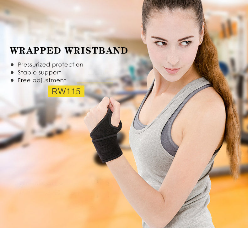 Wrist Support Wrap (2 Pack)
