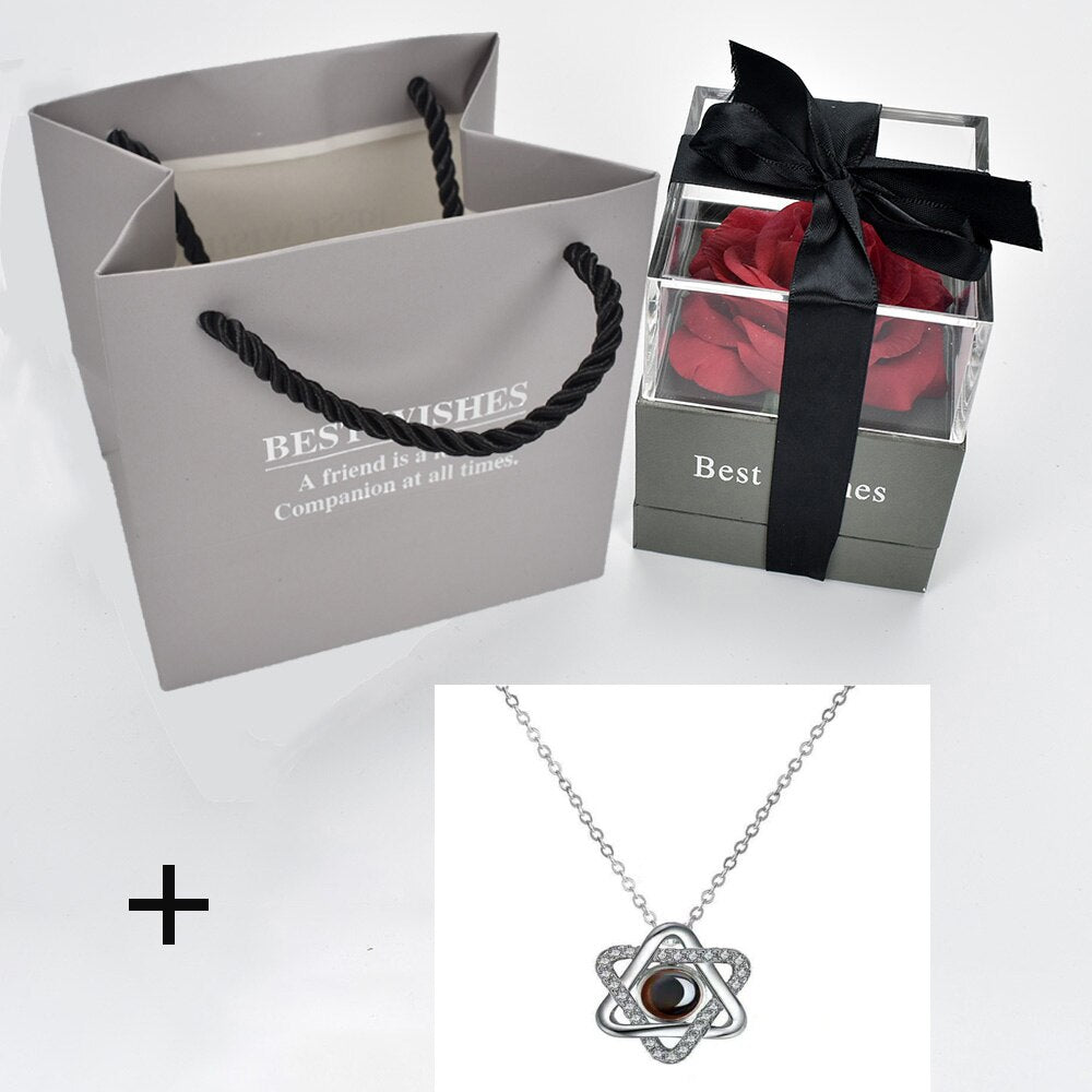 "Coffret Bijoux ""I Love You"" en 100 langues"