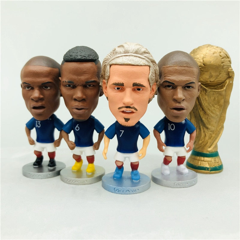 Figurines Joueurs France (5pcs)