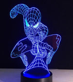 Veilleuse Lampe LED Tactile cadeau fan Avengers spiderman