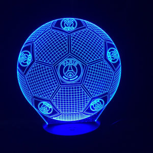 cadeau foot veilleuse lampe LED football FRANCE Ballon