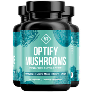 OPTIFY 8X Mushroom Nootropic Brain Booster