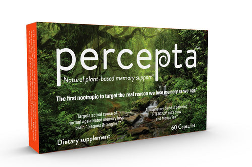 Percepta Natural-Plant Based Nootropic - Memory, Focus, Clarity