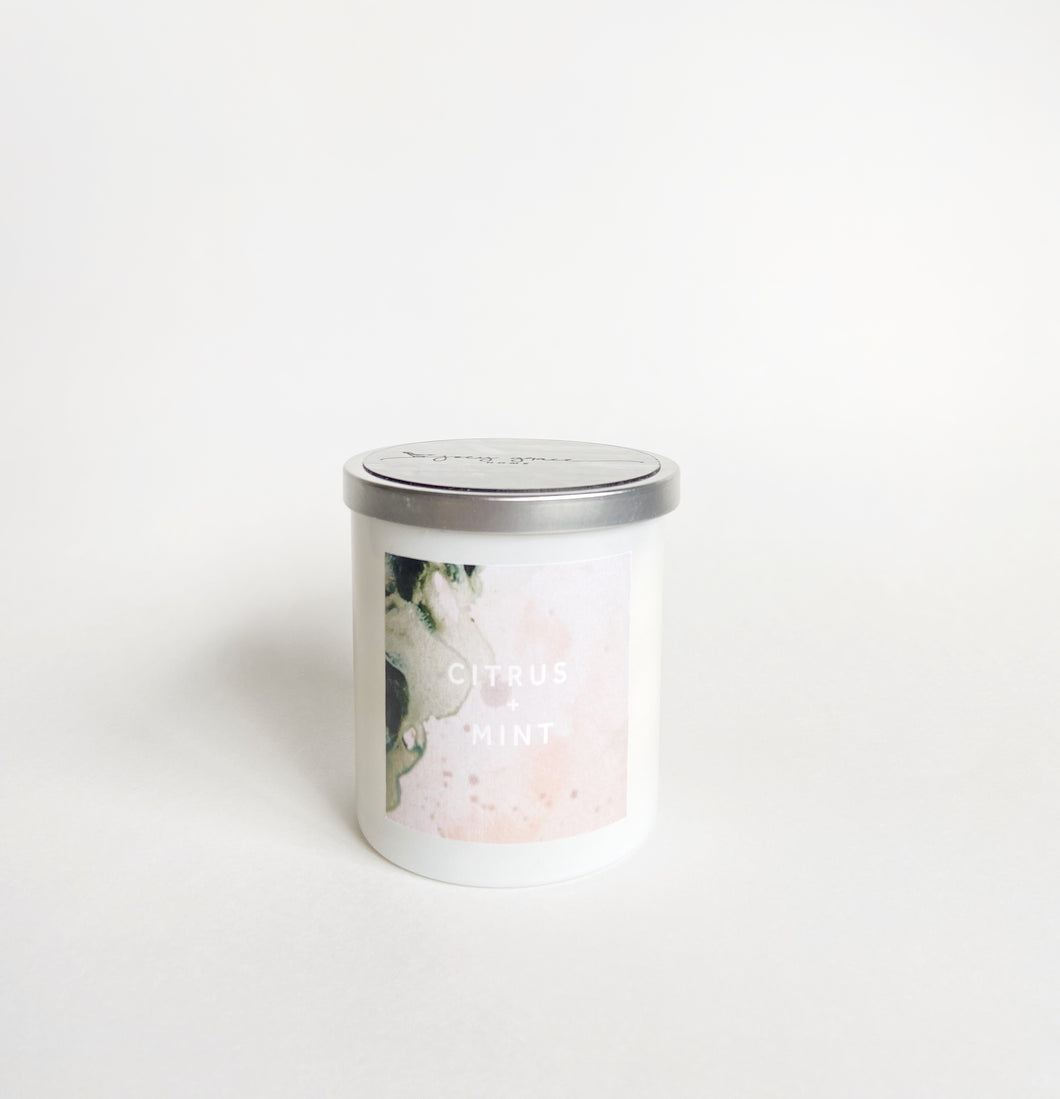 Haley Titus Stay Home Candle: Citrus + Mint *Limited Edition