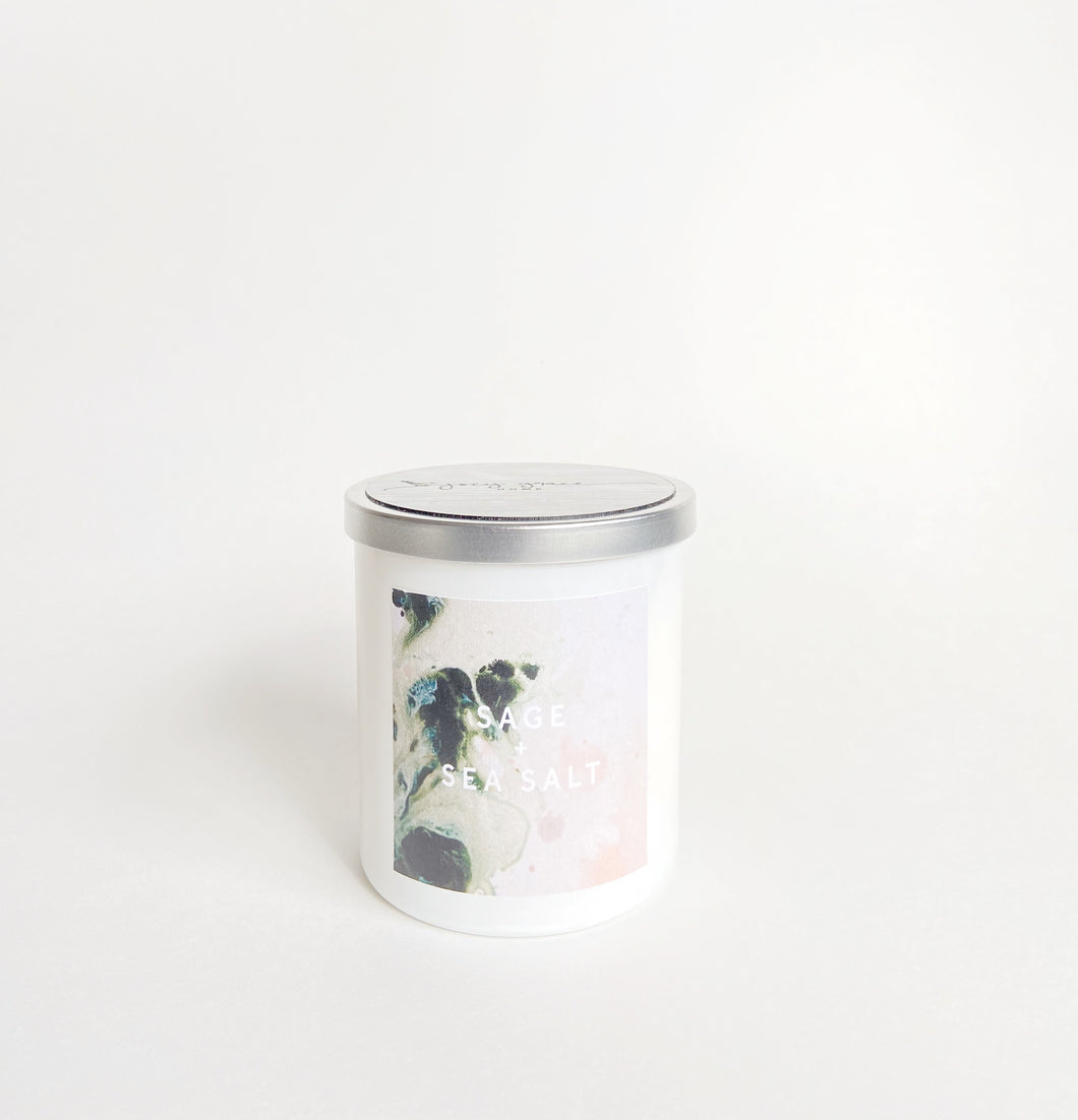 Haley Titus Stay Home Candle: Sage + Sea Salt *Limited Edition