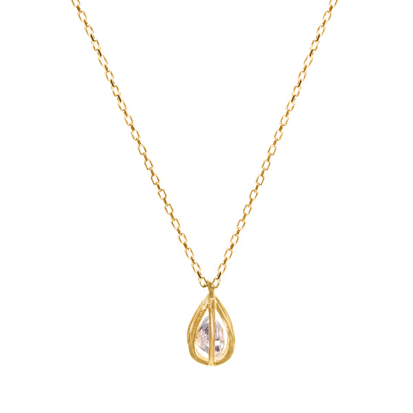 Heather gold necklace