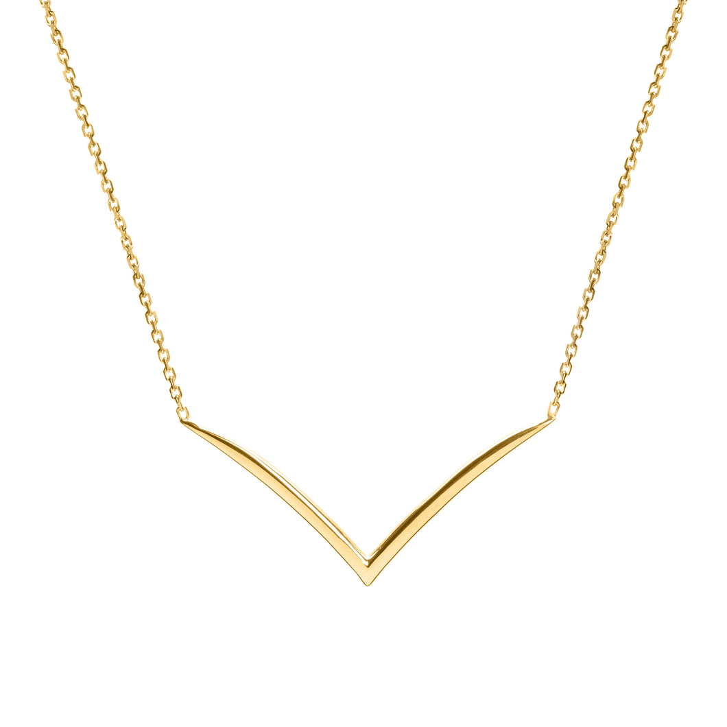 Isabella gold necklace