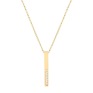 Alisha gold necklace