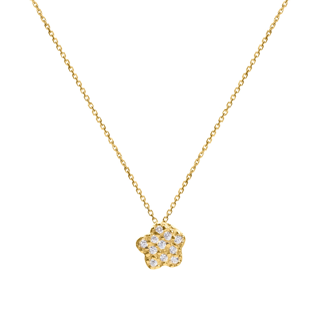 Margarita gold necklace