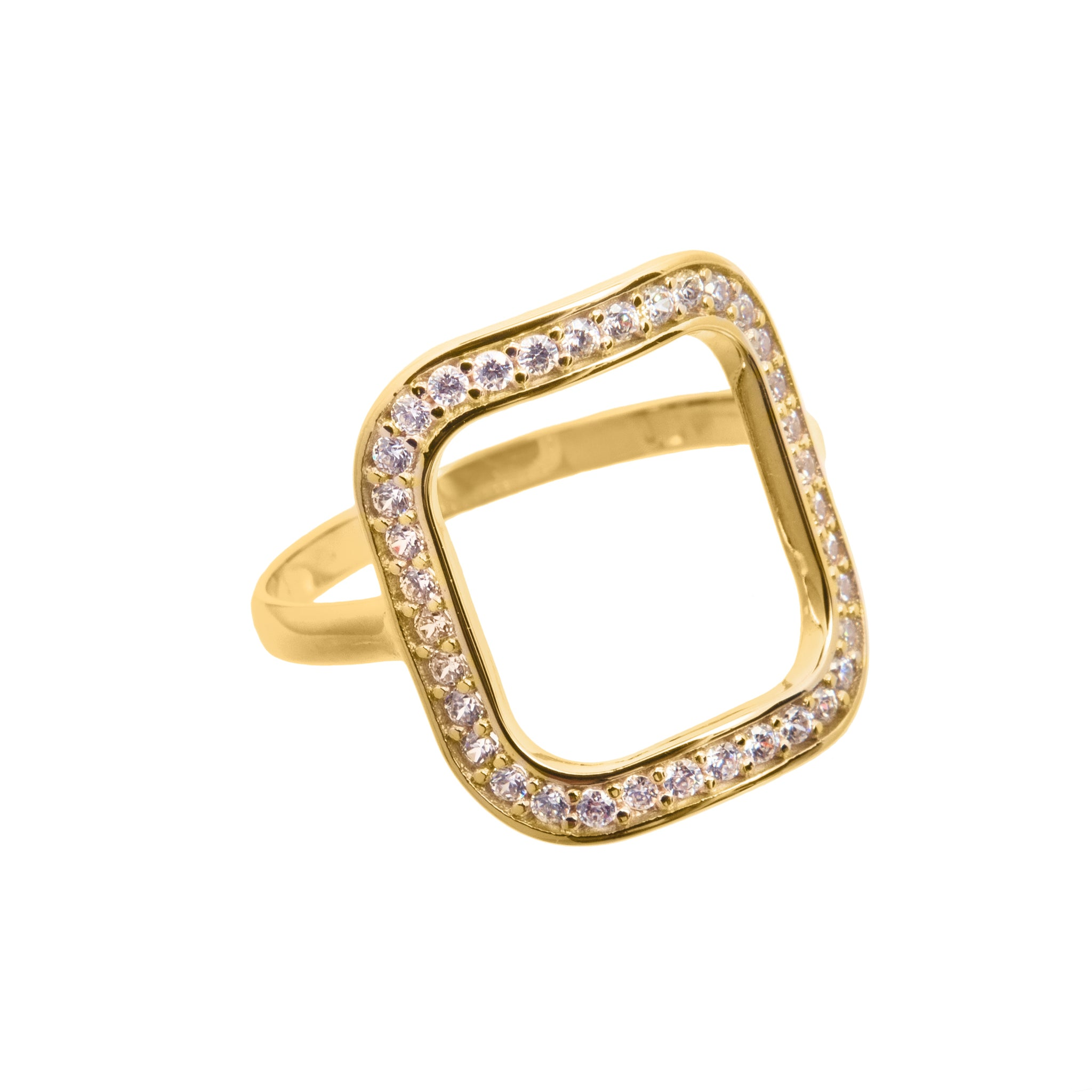 Nadine gold ring