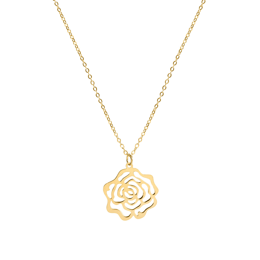 Esther gold necklace
