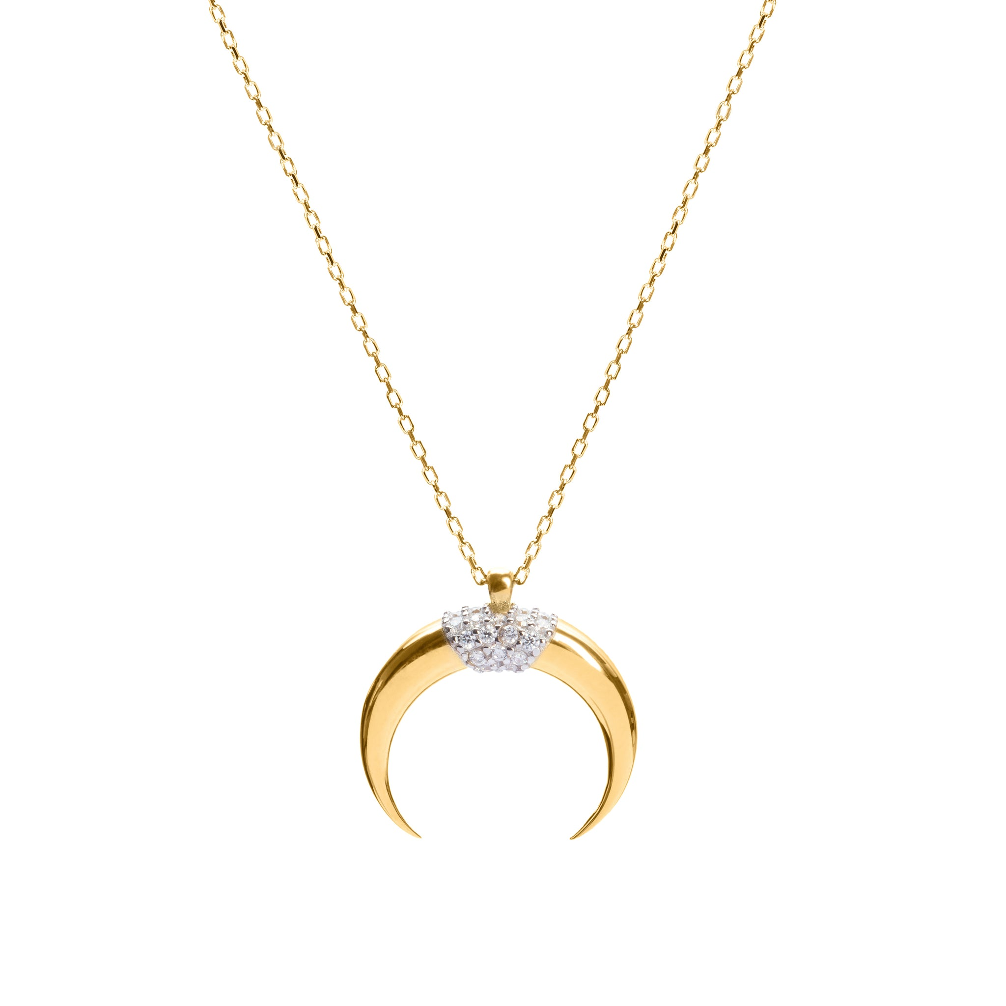 Genevieve gold necklace