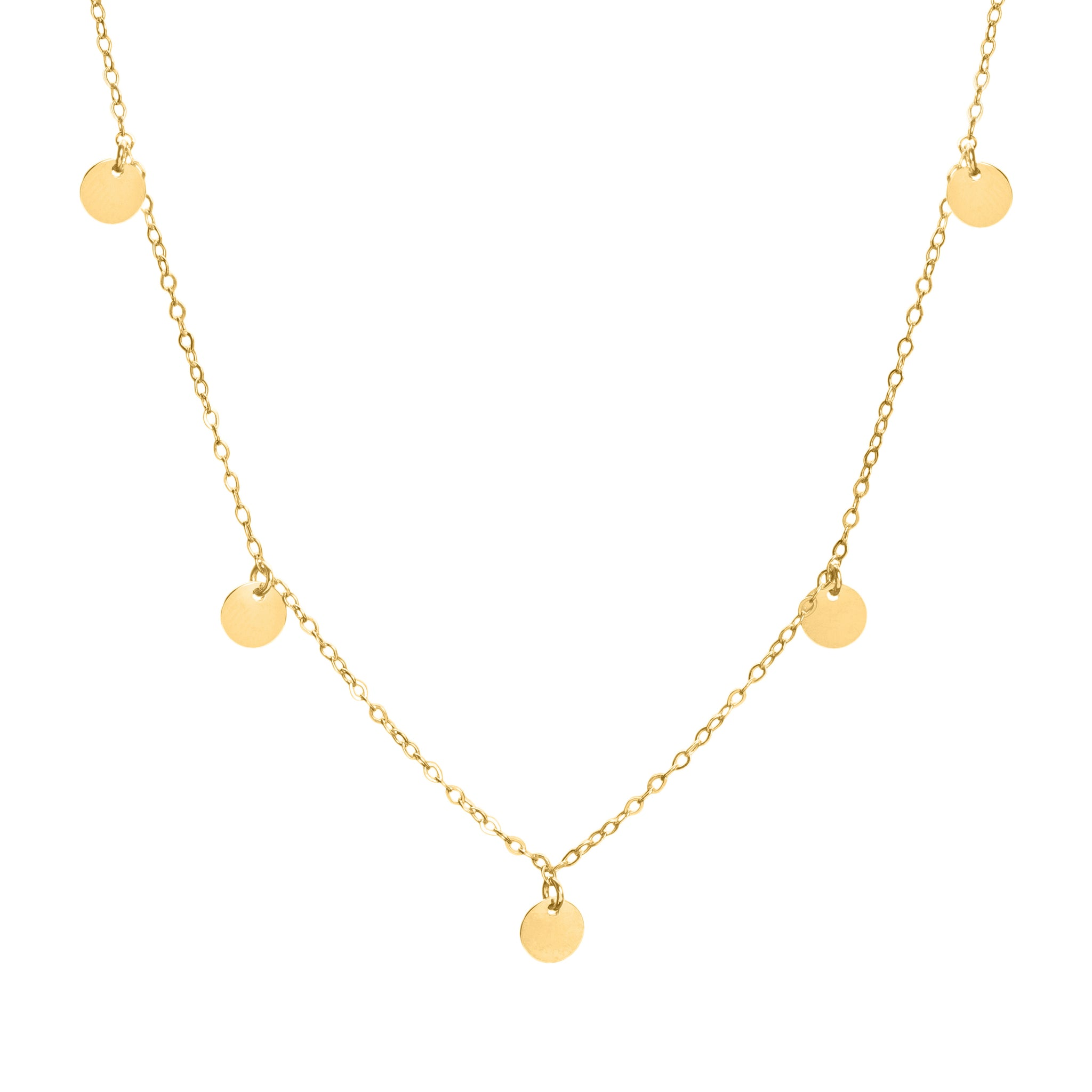 Giselle gold necklace