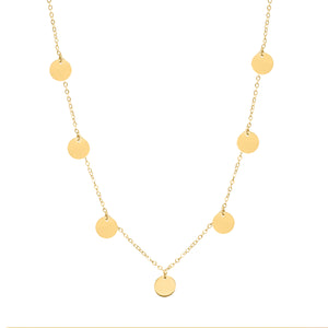 Gwyneth gold necklace