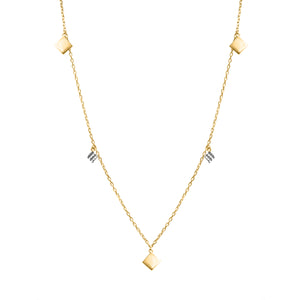 Clarissa gold necklace