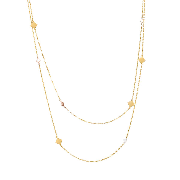 Gail gold necklace