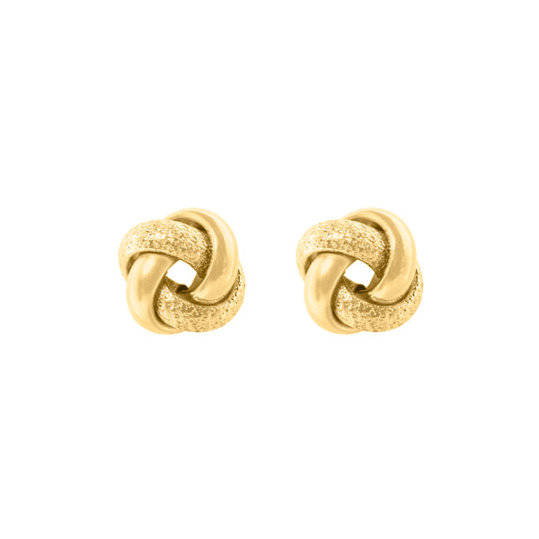 Bella gold earrings