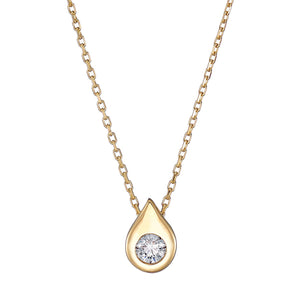 Deborah gold necklace