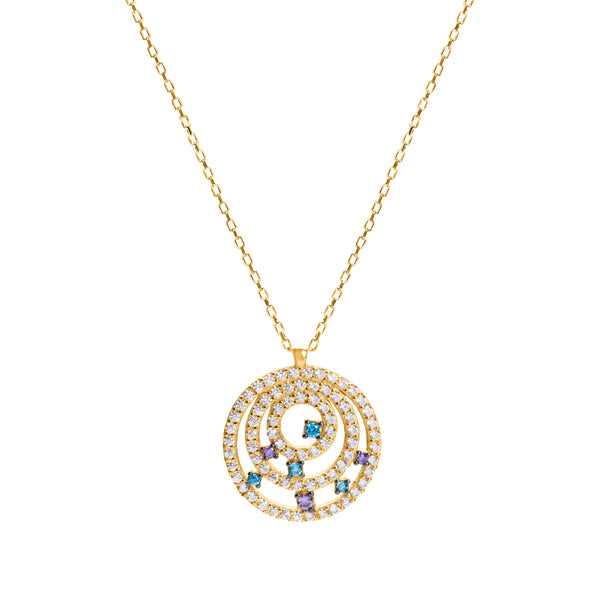 Estelle gold necklace